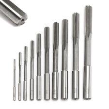 10pcs H7 HSS Reamer Straight Shank Milling Chucking Sharp Machine Cutter 3-12mm