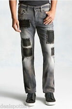 NWT True Religion Mens 32Wx34L Ricky Reckless Grey Jeans $368 MSRP