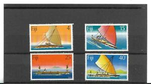 Fiji 1977 Drua set of four Mint Never Hinged