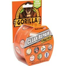 Gorilla Tape Strong Clear White Black Durable Repair Gaffer Adhesive Selotape