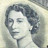 1954 Canada Devil Face Twenty Dollar DE Canadian Circulated Banknote 20 J853