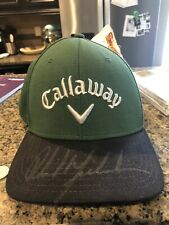 phil mickelson signed Hat