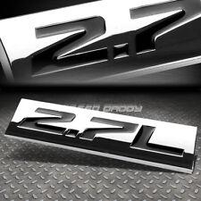 METAL EMBLEM CAR BUMPER TRUNK FENDER DECAL LOGO BADGE CHROME BLACK 2.7L 2.7 L