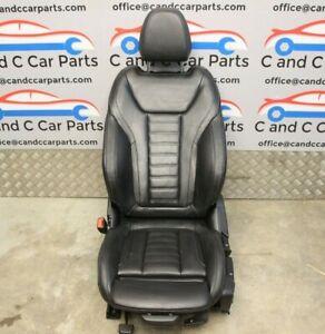 BMW X3 G01 Front Passenger Seat M Sport Heated Black Leather 8/3