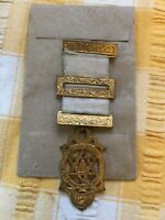 Masonic Silver Gilt Seal of Solomon Royal Arch Companion Jewel Medal G kennings