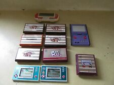 SET OF 11 USED NINTENDO GAME & WATCHES IN GOOD LOOKING / GREAT WORKING ORDER