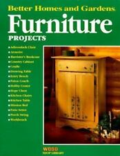 Furniture Projects (Better Homes & Gardens Wood Shop Library) ~ Better Homes and
