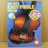 Mel Bay's Easy Fiddle Solos Book and CD
