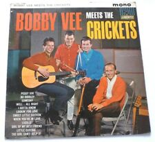 Bobby Vee Meets the Crickets - Bobby Vee meets the Crickets  UK VINYL MONO LP