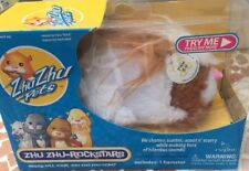 Zhu Zhu Pets Rocksters Hamster Toy Pax Long Hair by Zhu Zhu Pets (2009) RARE