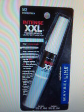 Maybelline intense xxl  microfiber mascara 562 waterproof.Brownish black pack 2