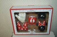 PACK ORNEMENT MICKEY MINNIE  DISNEY  NEUF  POUR DECORATION OU SAPIN