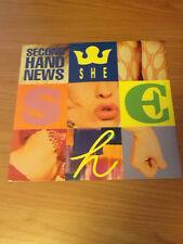 "12"" MIX SHE SECOND HAND NEWS BABY REC MIX 54107  EX/EX- ITALY PS 1992 BXX"