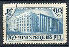 PROMO / STAMP / TIMBRE FRANCE OBLITERE N° 424 MINISTERE DES PTT COTE 22,50 €