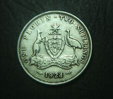 1924 Australian Florin