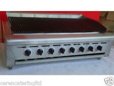 Charcoal Grill  and  Holding Cabinet,