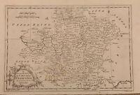 HUGE 1773 SC MAP Salem Salley Saluda Santee SURNAMES !!