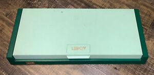 Vintage Keuffel & Esser Co. Leroy Original Lettering Set in Case