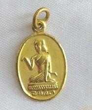 Tiny Pendant Nang Kwak Pha yant  Goddess Ganesha Successful Fortune Thai Amulet
