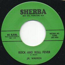 J R Warren - Rock And Roll Fever - Sherba 45 RE Rockabilly Hear