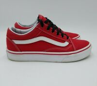 Vans Old Skool PRO Skateboard Classic Red Suede Mens size 5 Womens Shoes 6.5