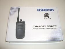 Maxon Spartan Ts-2116 16Ch Vhf 2-Way Commercial Business Band Handheld Radio