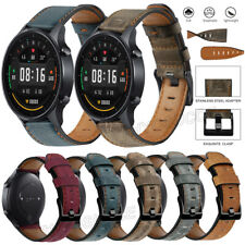 For Samsung Gear S3 Watch 3 41 45mm Active 3 2 40 44mm Leather Strap Wrist Band