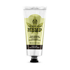 The Body Shop Hemp Hand Protector Hand Cream Full Size 100ml/3.3oz new