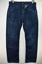 Hudson Wilde Relax Straight Mens Jeans Size 32 Stretch Meas. 31x30.5 Button Fly