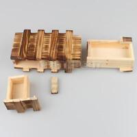 Magische Box Gravur Holz Kiste Geheimfach Versteck Geocache Geocaching WOODEN IQ