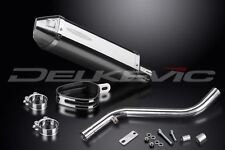"""Delkevic 13"""" Stainless Steel Tri-Oval Muffler - BMW R1150RT - 2001-2005 Exhaust"""