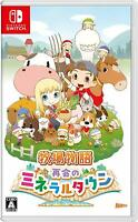 Nintendo Switch Harvest Moon Reunion Mineral Town Bokujo monogatari Japan w/Tra#
