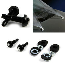 2Pcs Car Front Windshield Wiper Nozzle Strong Spray Wide Washer With Accessories