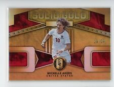 2019-20 Michelle Akers 19/29 Panini Gold Standard Solid Gold