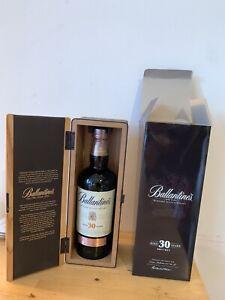 Rare Bouteille Balllantine's 30 Ans 40% 70 Cl