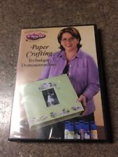 Donna Dewberry In-home Art Paper Crafting Technique Demonstrations DVD OSDVD6