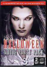 HALLOWEEN MOVIE PARTY PACK 3 FILMS WITH RECIPES, DRINKS & DECORATING IDEAS + CD