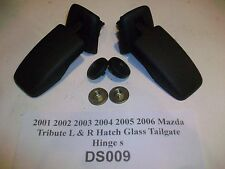 2005 05 Mazda Tribute Rear Liftgate Hatch Glass Window Hinge Set L&R OEM#DS009>