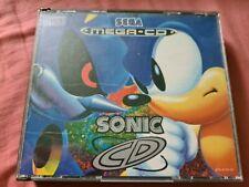 SONIC CD for Sega Mega CD (PAL version) - Boxed with manual