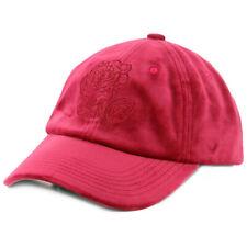"""The Hundreds """"Steelo"""" Strapback Hat (Red) Men's Velvet Rose Valentine's Cap"""