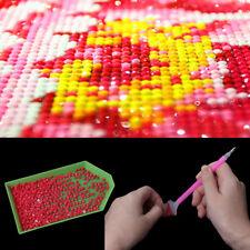 5Pcs DIY 5D Diamond Painting Rhinestone Plate Tray Embroidery Cross Stich Tool
