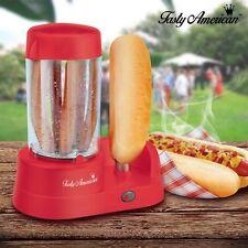Tasty American Electric Hot Dog Machine, Kitchen Party Hotdog Frankfurter Maker