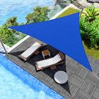 20'x20'x20' Triangle Sun Shade Sail Fabric Garden Outdoor Canopy Patio Pool Top