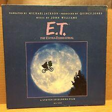 E.T. The Extra-Terrestrial Michael Jackson/Quincy Jones/John Williams VG+ LP MCA