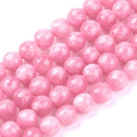 500pcs 10 Str Mix colours dyed jade beads Round 8mm #11869
