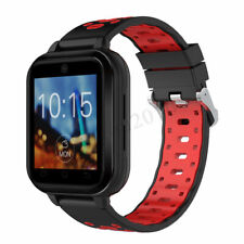 Android Smart Watch Q2 4G Bluetooth SIM WIFI Camera GPS Quad-Core 1GB+16GB Red