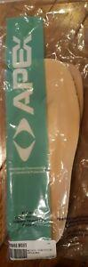 NEW APEX ANATOMICAL THERMOTHOTICS SKY 09 40668 INSERTS/DIABETES WOMENS SIZE 9