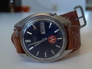 Vintage Seiko Automatic Water Resistant Watch 880805 7009-8279P Leather Band