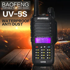 Baofeng UV-5S Walkie Talkie Dual Band Two Way Ham Radio 136-174 Mhz/400-520 Mhz