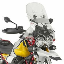 Parabrezza Trasparente Scorrevole 65x50 Escursione 12 per Moto Guzzi V85 TT 2019